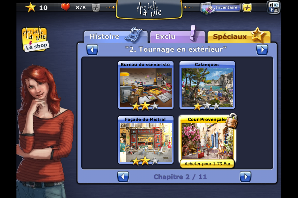 Screenshot Plus belle la vie – le Jeu